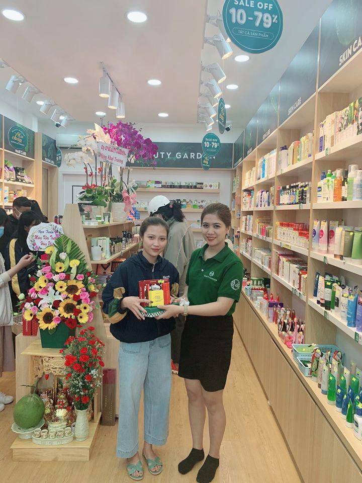 he thong my pham chinh hang beauty garden khai truong shop thu 9 tai buon ma thuot hinh anh 3