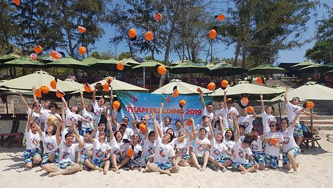 Team Building Bình Ba - Khánh Hòa và những khoảnh khắc đáng nhớ